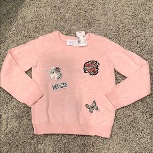 🆕 Girls Pullover Sweater Size 3T TCP 🦋
